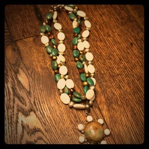 Jewelry - Hand made beaded necklace